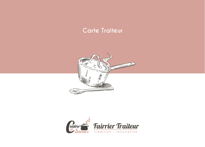 Carte Traiteur Menu 92