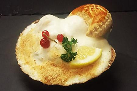 Coquille St Jacques à la normande - plat cuisiné