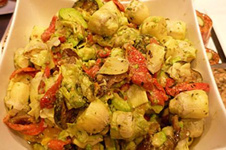 Salade Bicolore - salade créative