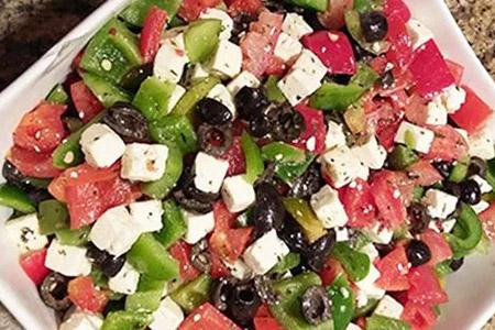 Salade Grecque - salade créative