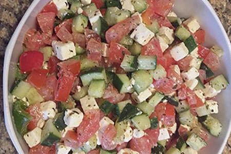 Salade Marguerite - salade créative