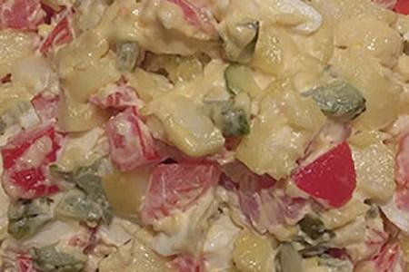Salade Piemontaise - salade créative
