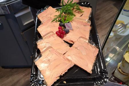 foie gras de canard mi-cuit - entrée froide