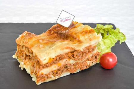 lasagne de boeuf - plat cuisiné