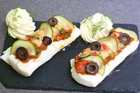 plat de poisson cuisiné selon arrivage - plat cuisiné