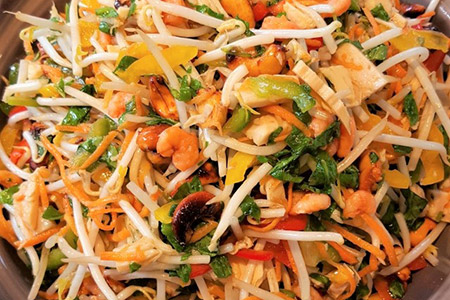 Salade asiatique - salade créative