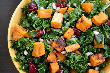 salade choux et patate douce - salade créative