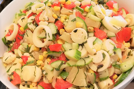 salade exotique - salade créative