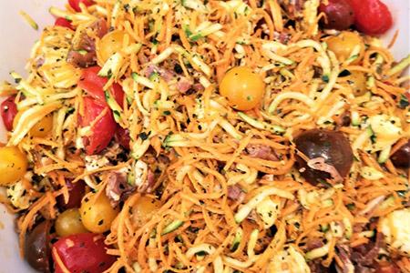 salade sicilienne - salade créative