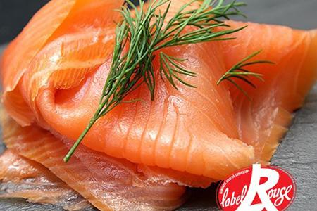 saumon fume d'ecosse label rouge - entrée froide